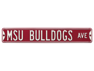 Mississippi State Bulldogs Authentic Street Signs Avenue Street Sign