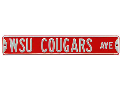 Washington State Cougars Authentic Street Signs Avenue Street Sign