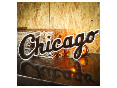Chicago White Sox Hex Head Art MLB 3D Metal Artwork
