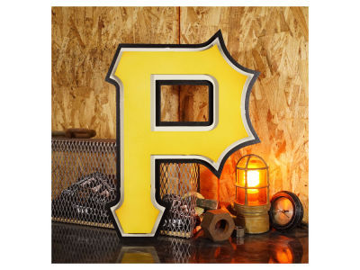 Pittsburgh Pirates Hex Head Art MLB 3D Metal Artwork