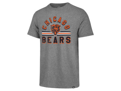 Chicago Bears '47 NFL Men's Team Stripe Match Tri-blend T-Shirt