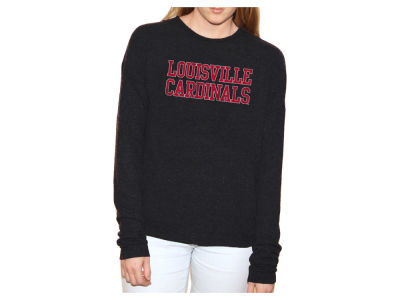 Louisville Cardinals Retro Brand NCAA Women's Lightweight Haachi Crew Sweatshirt