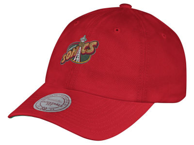 Seattle SuperSonics Mitchell & Ness NBA Hardwood Classic Basic Slouch Adjustable Cap