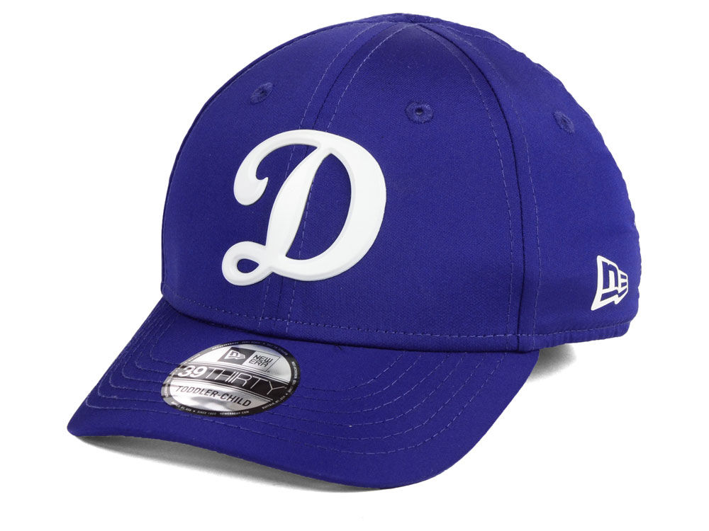 Los Angeles Dodgers New Era MLB Youth Batting Practice Prolight 39THIRTY  Cap  02bd20413aa