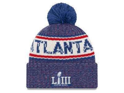 Super Bowl LIII New Era NFL Atlanta Pom Knit