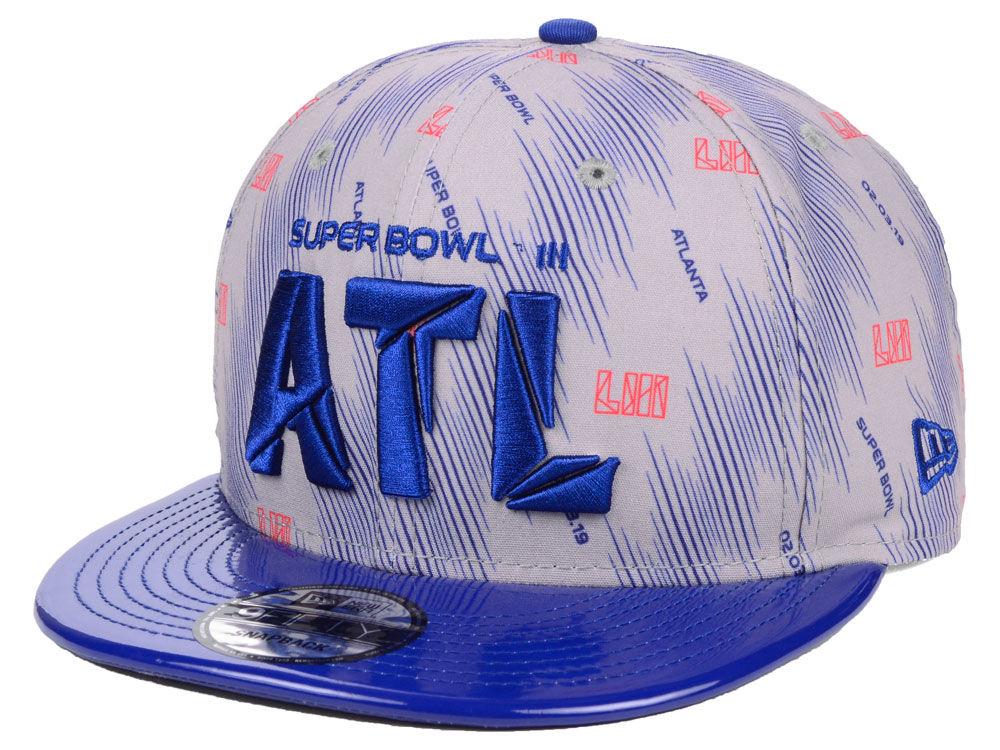 Super Bowl LIII New Era NFL Micro Silver 9FIFTY Snapback Cap  3be2b9817fd8