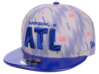 Super Bowl LIII New Era NFL Micro Silver 9FIFTY Snapback Cap