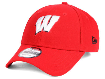 Wisconsin Badgers New Era NCAA League 9FORTY Cap