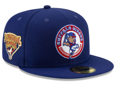 Buffalo Bisons New Era MiLB League Patch 59FIFTY Cap