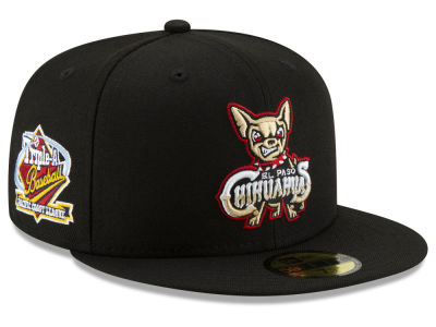EL Paso Chihuahuas New Era MiLB League Patch 59FIFTY Cap