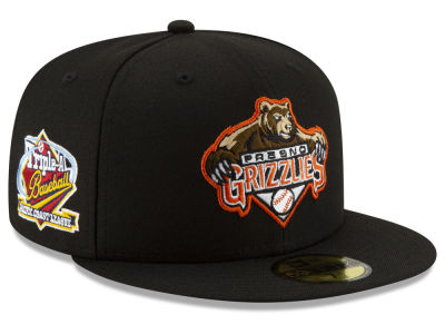 Fresno Grizzlies New Era MiLB League Patch 59FIFTY Cap