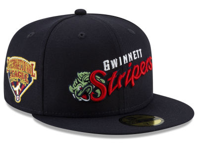 Gwinnett Stripers New Era MiLB League Patch 59FIFTY Cap