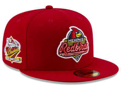 Memphis Redbirds New Era MiLB League Patch 59FIFTY Cap