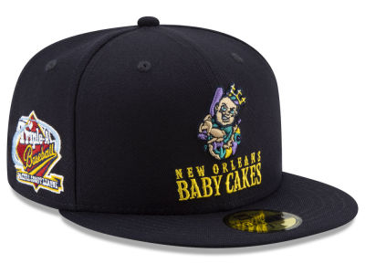 New Orleans Baby Cakes New Era MiLB League Patch 59FIFTY Cap