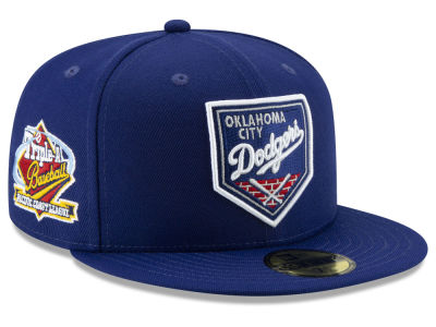 Oklahoma City Dodgers New Era MiLB League Patch 59FIFTY Cap