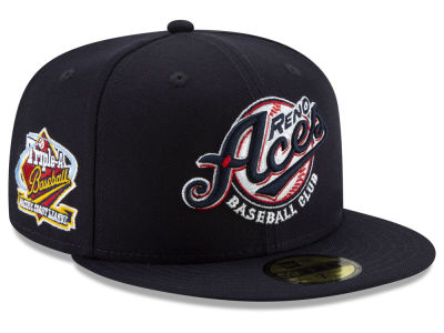 Reno Aces New Era MiLB League Patch 59FIFTY Cap