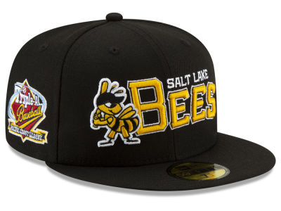 Salt Lake Bees New Era MiLB League Patch 59FIFTY Cap