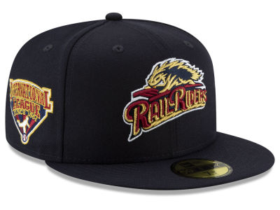 Scranton Wilkes-Barre RailRiders New Era MiLB League Patch 59FIFTY Cap