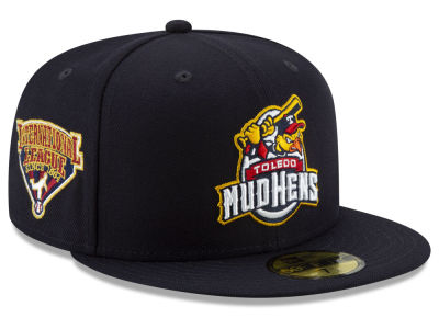 Toledo Mud Hens New Era MiLB League Patch 59FIFTY Cap
