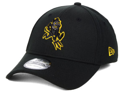 c5d4bfc0e15 Arizona State Sun Devils New Era NCAA Black Pop Flex 39THIRTY Cap