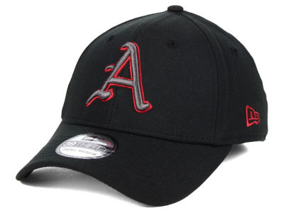 Arkansas Razorbacks New Era NCAA  Black Pop Flex 39THIRTY Cap