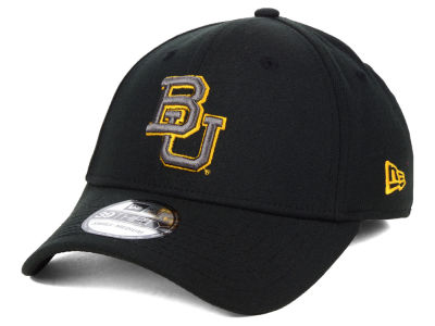 Baylor Bears New Era NCAA  Black Pop Flex 39THIRTY Cap