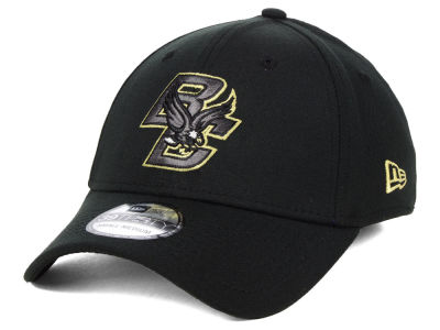 Boston College Eagles New Era NCAA Black Pop Flex 39THIRTY Cap 45f8f6ebf548