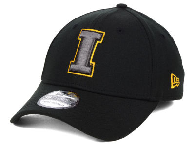 Iowa Hawkeyes New Era NCAA  Black Pop Flex 39THIRTY Cap