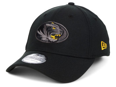 Missouri Tigers New Era NCAA  Black Pop Flex 39THIRTY Cap