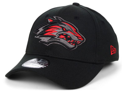 New Mexico Lobos New Era NCAA  Black Pop Flex 39THIRTY Cap