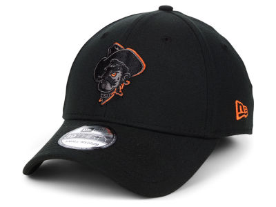 Oklahoma State Cowboys New Era NCAA  Black Pop Flex 39THIRTY Cap