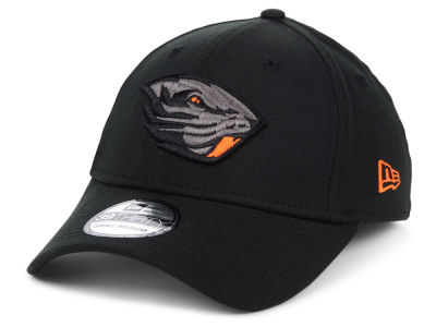 Oregon State Beavers New Era NCAA  Black Pop Flex 39THIRTY Cap