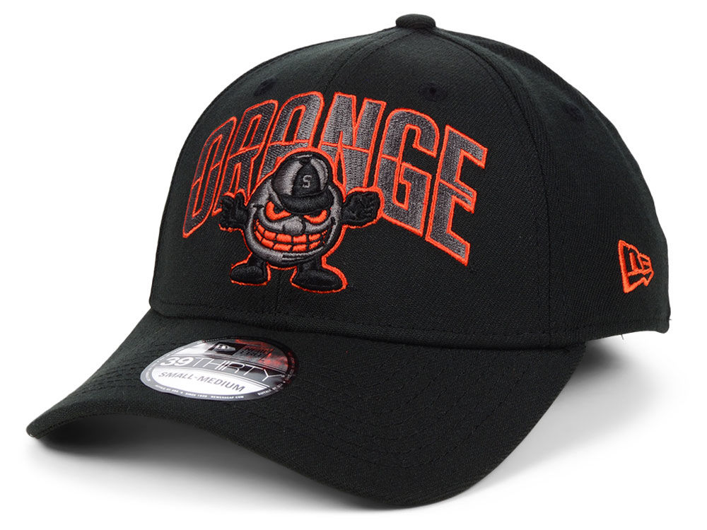 timeless design 3ffa5 23128 ... australia syracuse orange new era ncaa black pop flex 39thirty cap lids  823d5 87c43
