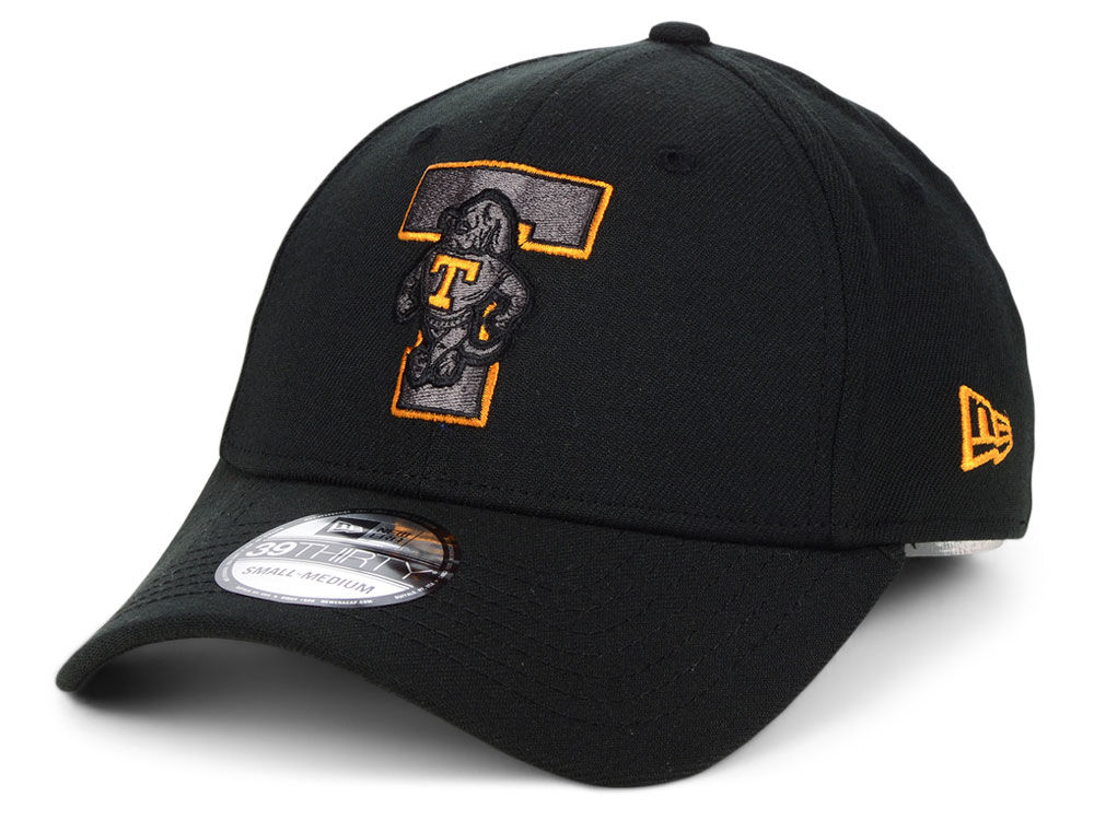 first rate e4dd7 b589a ... hat tennessee orange 87e85 a427f  wholesale where to buy tennessee  volunteers new era ncaa black pop flex 39thirty cap 407ff dea83