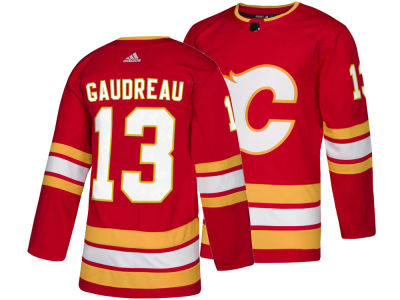Calgary Flames Johnny Gaudreau adidas NHL Men's adizero Authentic Pro Player Jersey