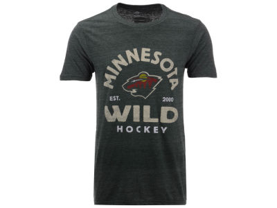 Minnesota Wild NHL Men's Vintage Arch Tri-Blend T-Shirt