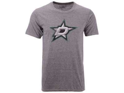 Dallas Stars NHL Men's Tri Blend Team Logo T-Shirt