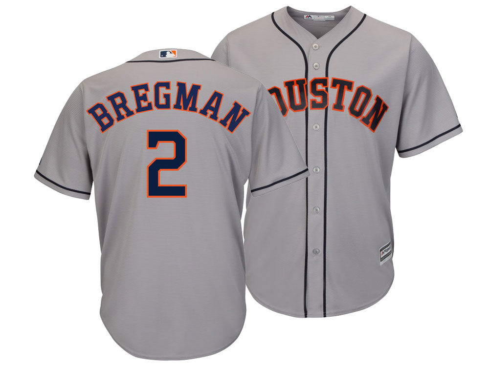 edfcf309b Houston Astros Alex Bregman Majestic MLB Men s Player Replica Cool Base  Jersey. Houston Astros Alex Bregman Majestic MLB Men s ...