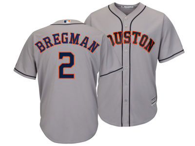 Houston Astros Alex Bregman Majestic MLB Men's Player Replica Cool Base Jersey