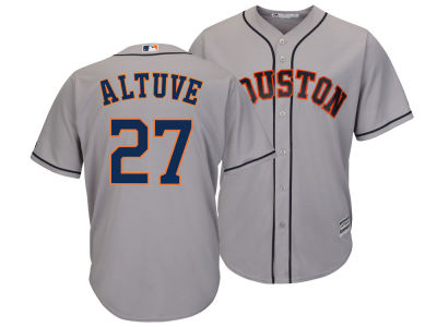 Houston Astros Jose Altuve Majestic MLB Men's Player Replica Cool Base Jersey