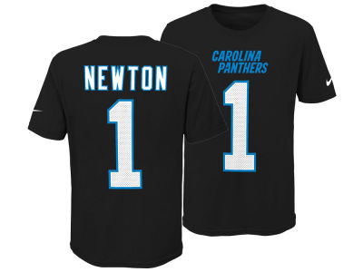 bccfa26c0 Carolina Panthers Cam Newton Nike NFL Youth Pride Name and Number 3.0 T- Shirt