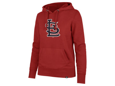 St. Louis Cardinals '47 MLB Women's Imprint Headline Hoodie