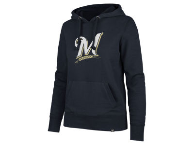 Milwaukee Brewers '47 MLB Women's Imprint Headline Hoodie