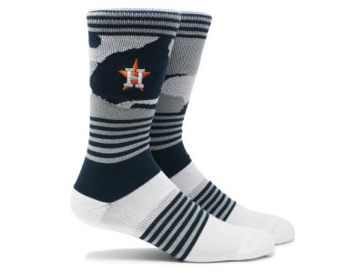 Houston Astros Parkway MLB Camo Crew Socks