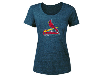 St. Louis Cardinals 5th & Ocean 2018 MLB Women's Tri-Blend Crew T-shirt