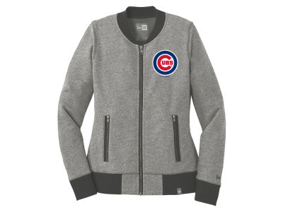 Chicago Cubs 5th & Ocean MLB Women's French Terry Full Zip Jacket