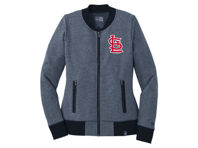 St. Louis Cardinals 5th & Ocean MLB Women's French Terry Full Zip Jacket