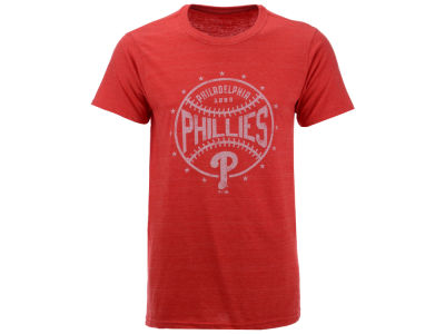 Philadelphia Phillies MLB Men's Two Seam Tri-blend T-Shirt