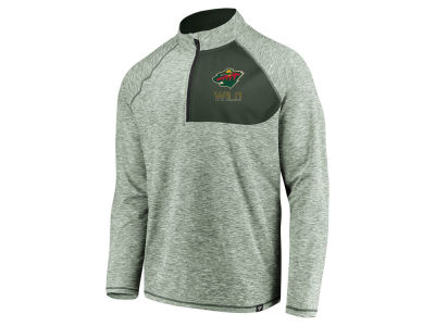 Minnesota Wild NHL Men's Static Quarter Zip Pullover