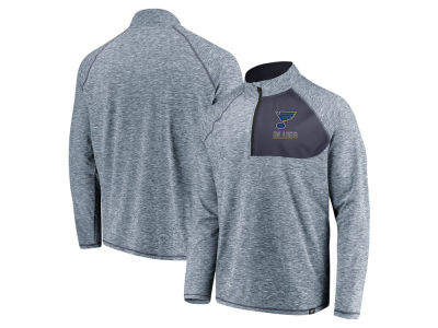 St. Louis Blues NHL Men's Static Quarter Zip Pullover